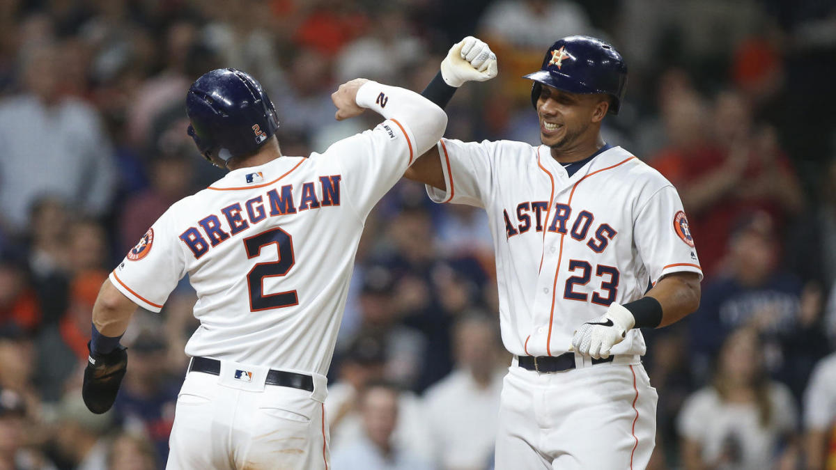 ed19be99 2019 MLB All-Star Game starters voting results: Astros lead with three  selections; Mike Trout tops vote-getters - CBSSports.com