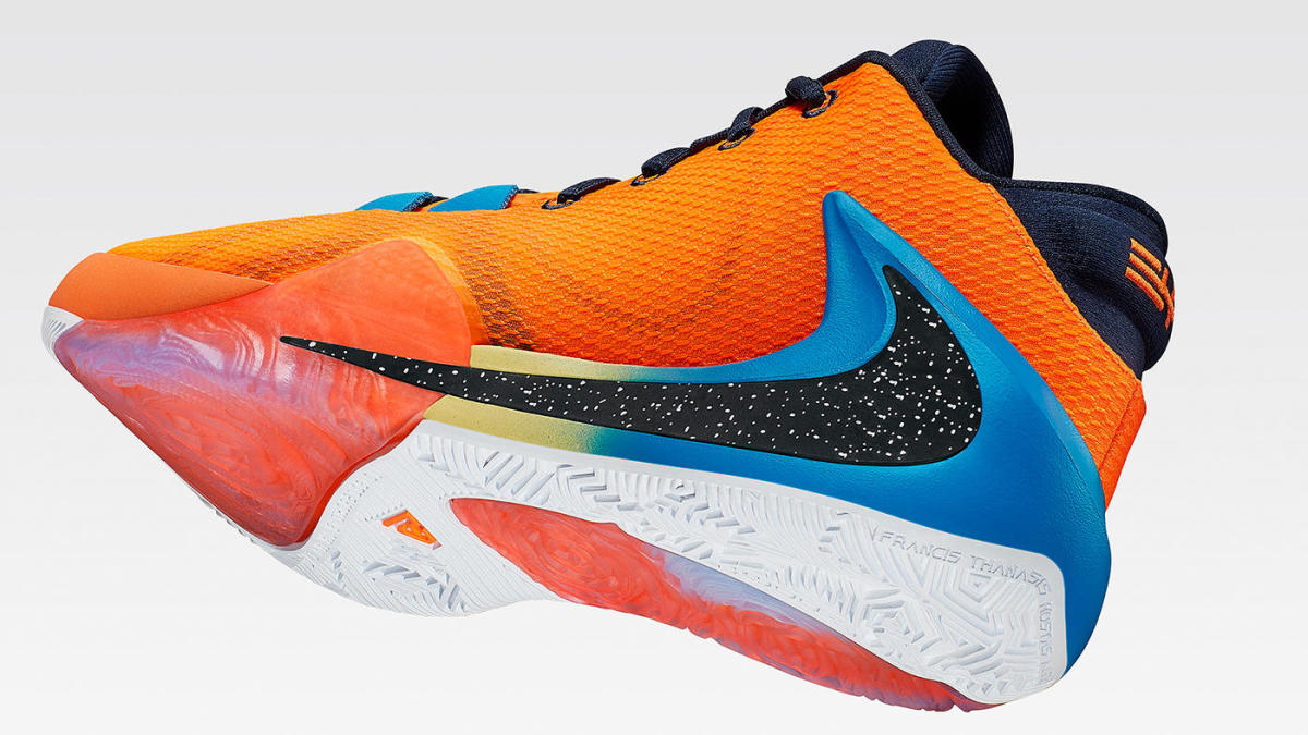 3dbf18c71 Giannis Antetokounmpo, Nike come together to officially unveil his  signature Air Zoom Freak 1 shoe