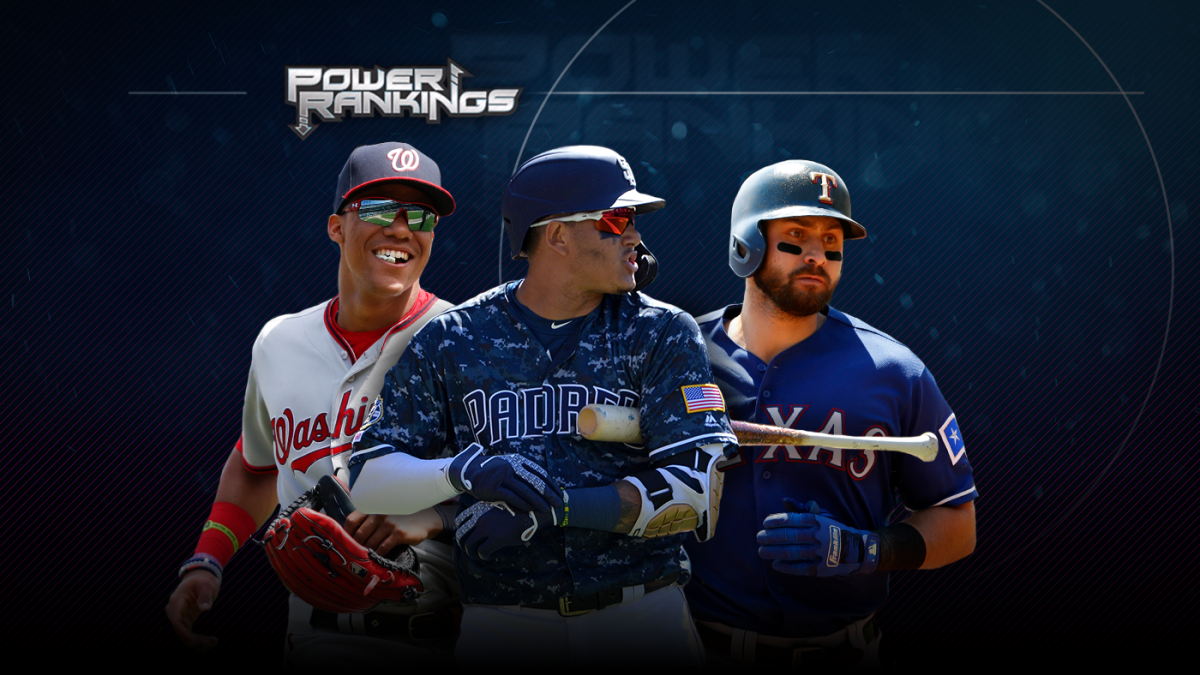 promo code f1a68 27cf2 MLB Power Rankings  Padres, Rangers, Nationals among potential surprise  playoff teams at the halfway point - CBSSports.com