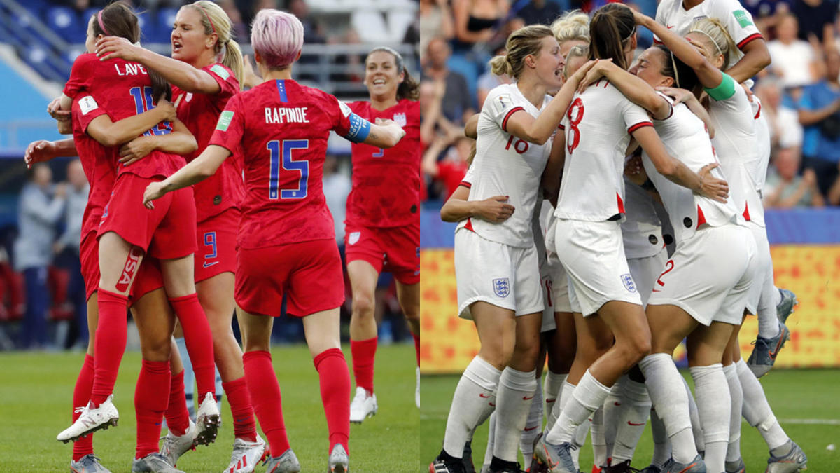 USWNT vs  England: FIFA 2019 Women's World Cup semifinal live stream