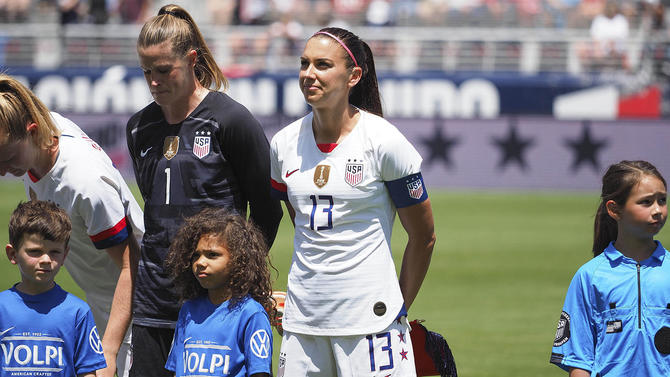 sports shoes ff37f 931b1 U.S. Women's World Cup home kit becomes Nike's highest ...