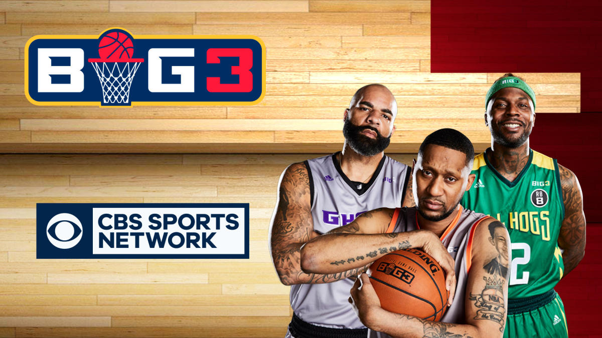 BIG3 basketball 2019: How to watch week 3 of Ice Cube's 3-on-3 league on CBS Sports and CBS Sports Network