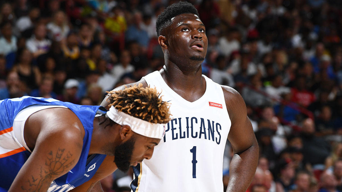 Zion Williamson Injury Update Pelicans Rookie Ruled Out For Remainder Of Summer League With A Bruised Knee Cbssports Com