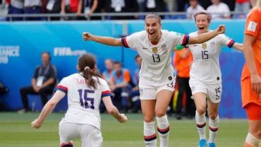 2019 FIFA Women's World Cup - June 7 - July 7, 2019 - CBS