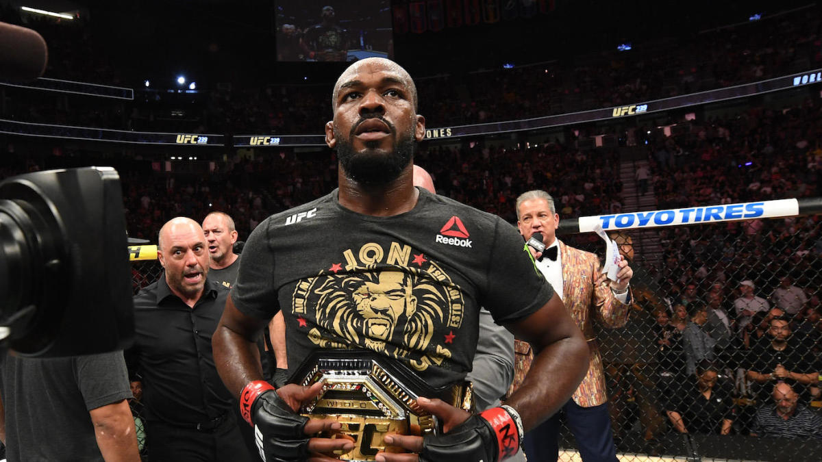 Jon Jones faces battery charge for alleged April strip club incident, calls it a 'malicious lie'