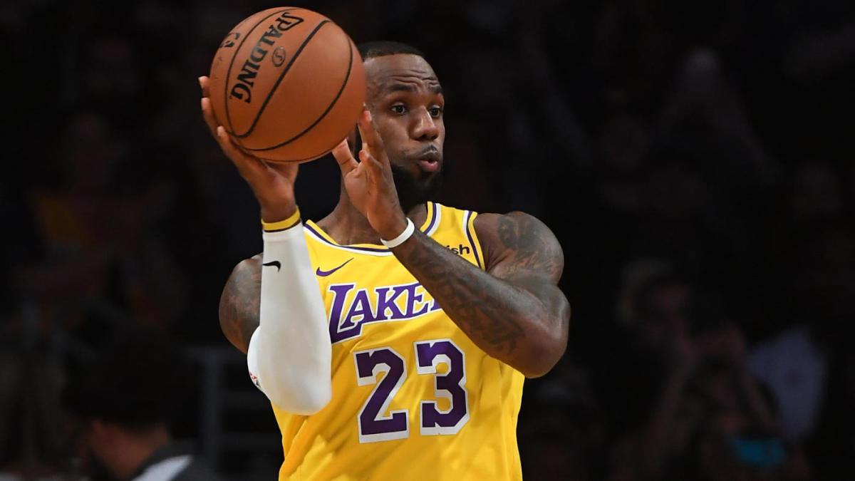 With Lebron James At Point Anthony Davis At Center Lakers