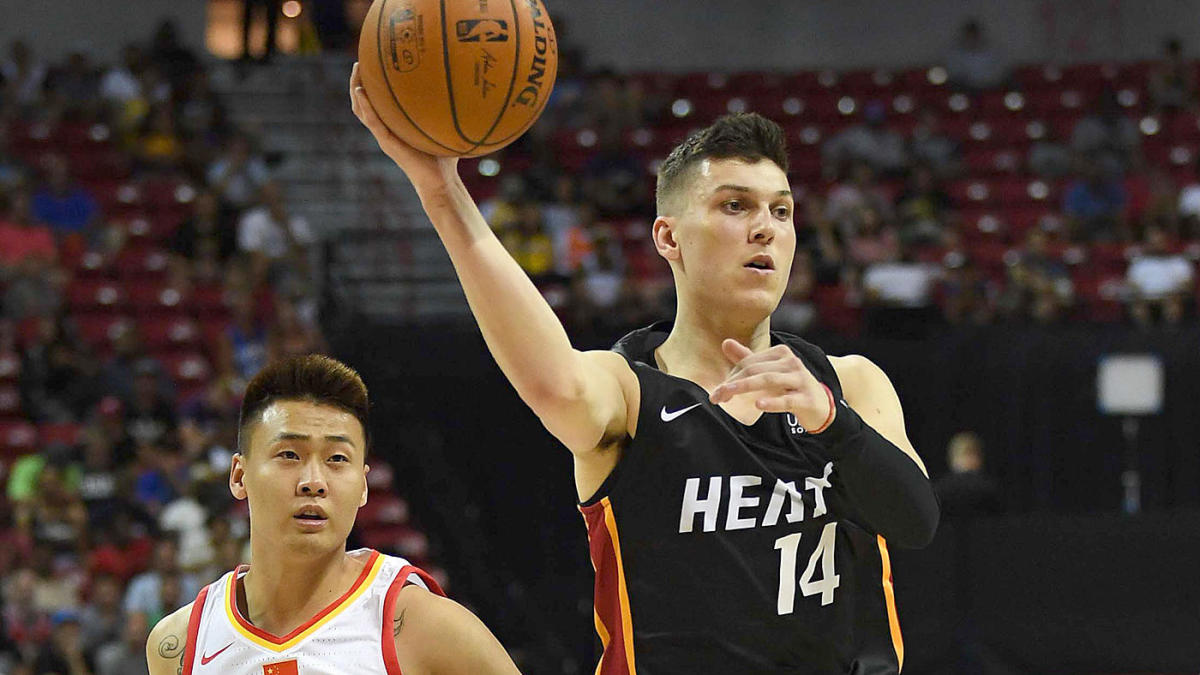 Tyler Herro Accidentally Leaks New Vice Nights Miami Heat Jerseys In Photo Cbssports Com