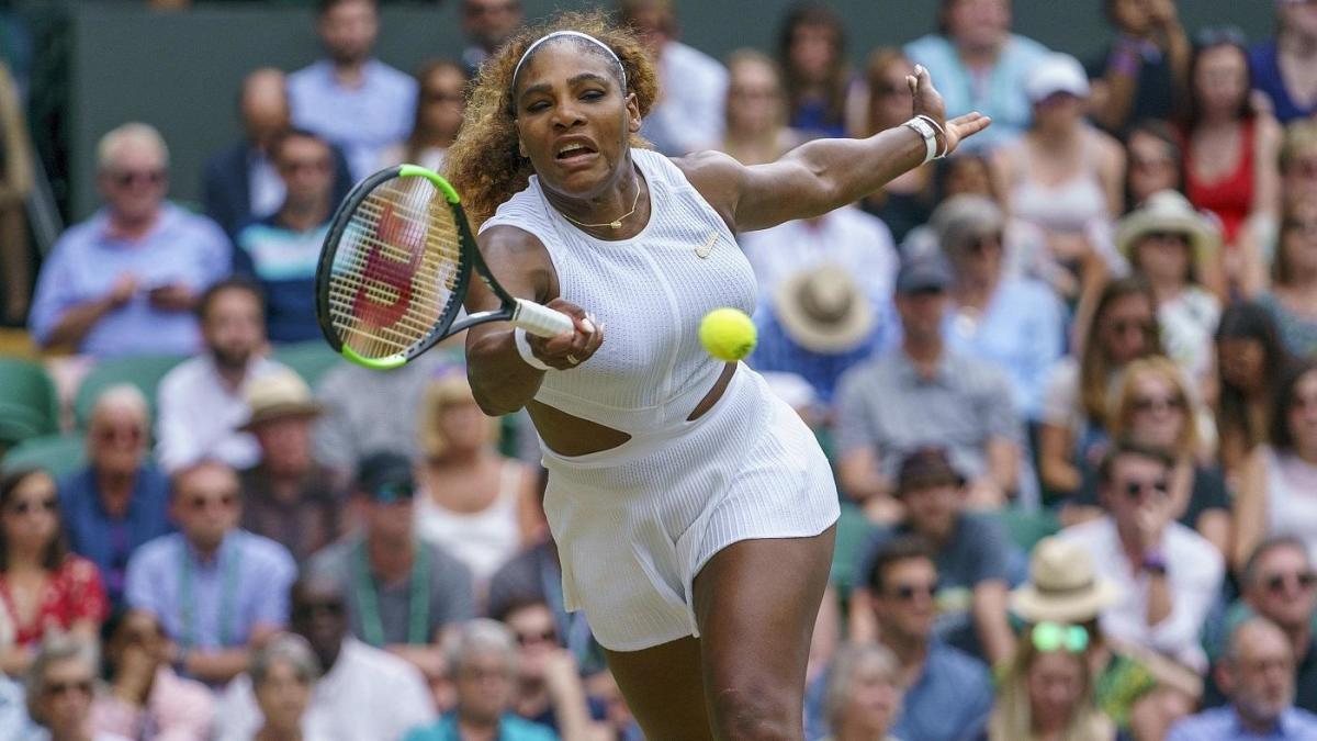 Wimbledon 2019: Serena Williams fined $10k for damaging court during practice