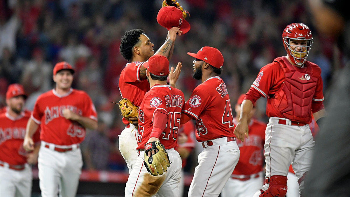 Players and fans react to Angels no-hitter, coming the night they honor teammate Tyler Skaggs
