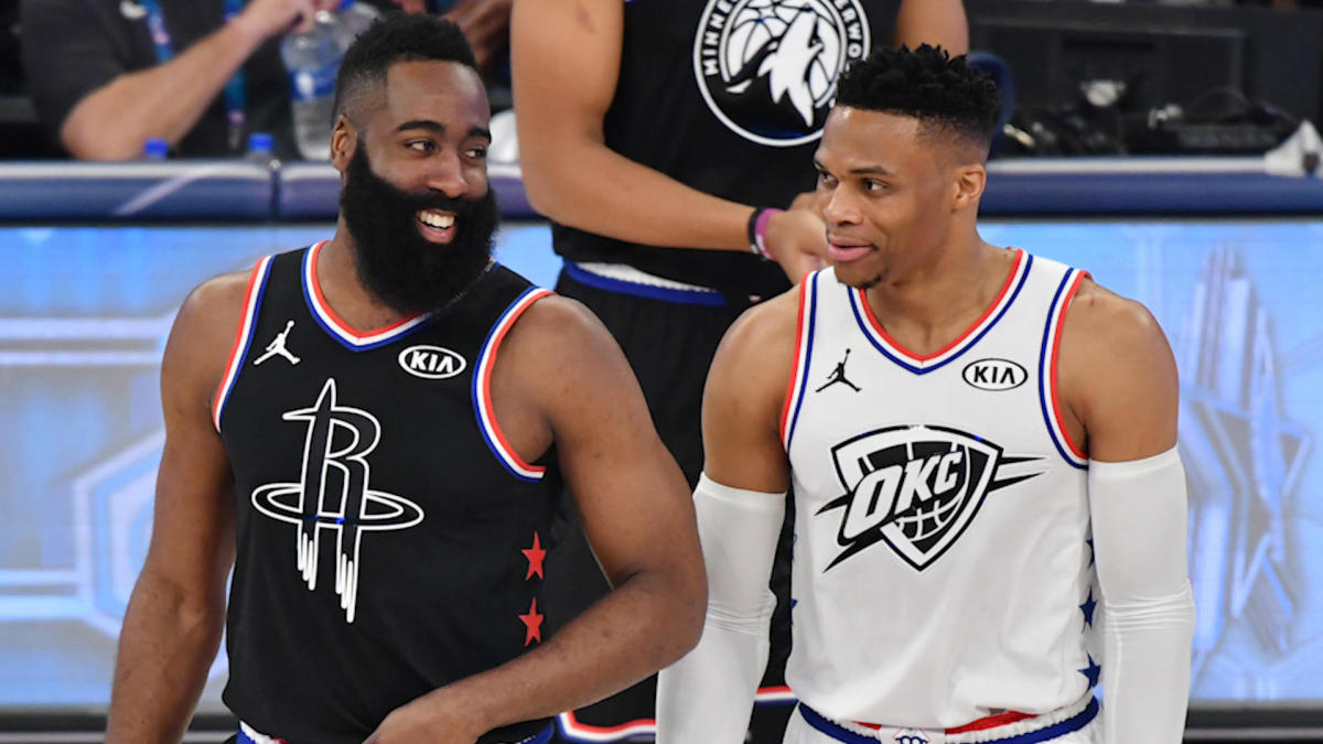 James Harden is not concerned with questions about playing with Russell Westbrook again