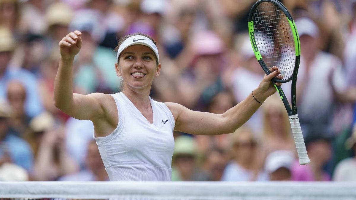 Stream Nascar Free >> Wimbledon 2019: Simona Halep beats Serena Williams in straight sets to claim first title at the ...
