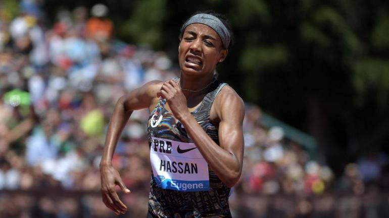 Sifan Hassan breaks 23-year-old women's mile record in race honoring runner