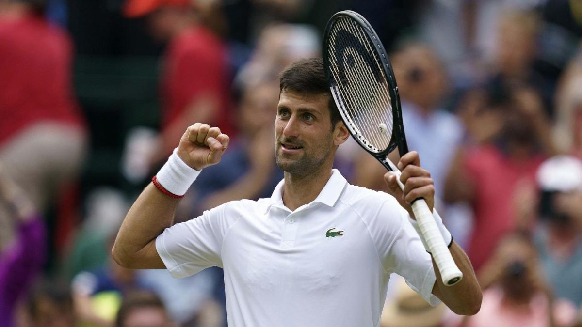 08fd2914fcb728 Roger Federer vs. Novak Djokovic score: Wimbledon 2019 final live updates  as two legends play for the title