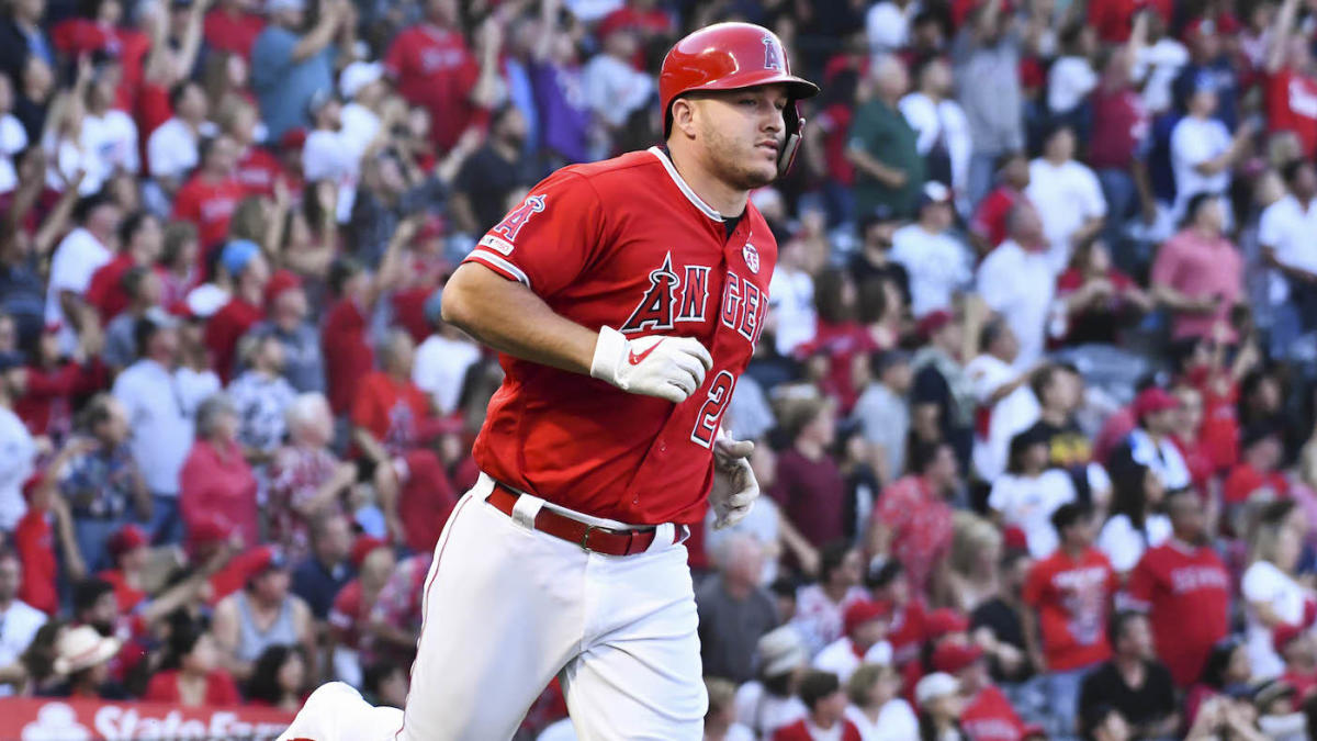 Somewhat Shaky Start For New Cap Times >> Mlb Scores Mike Trout Joins 30 Homer Club Nationals Juan Soto