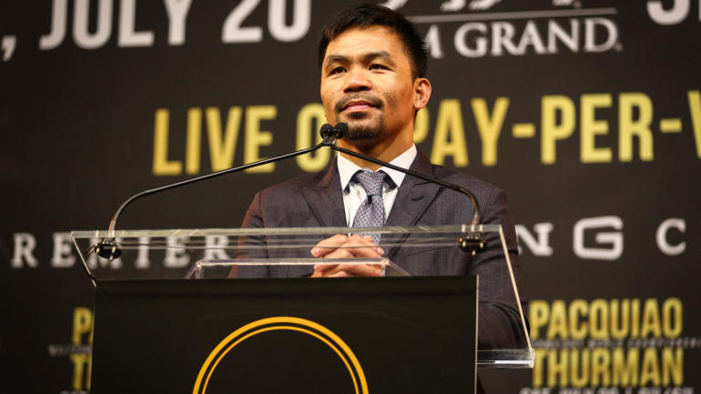 Manny Pacquiao vs. Keith Thurman fight card, odds: Veteran favored in welterweight title showdown