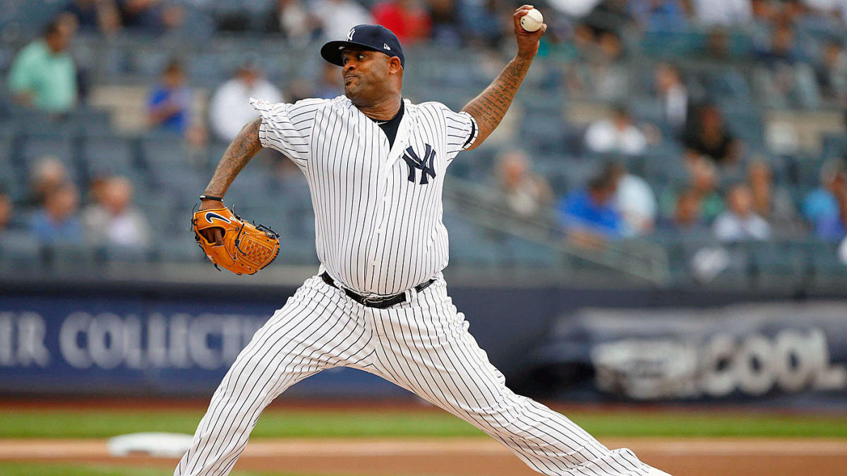 new styles 0fdb7 ce256 A look at the top moments of CC Sabathia's Yankees career as ...
