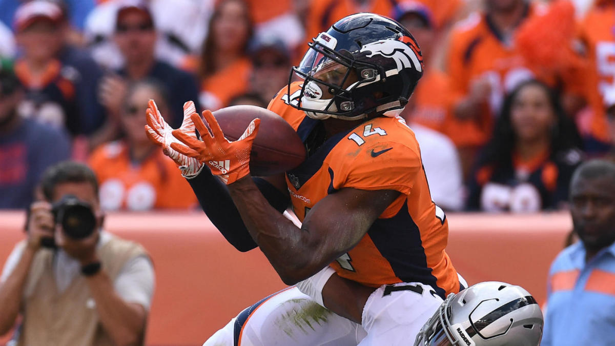 2019 NFL training camp battles: As Emmanuel Sanders recovers from injury, which Broncos receivers will step up?