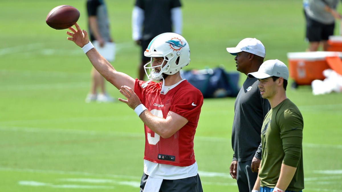 Dolphins coach Brian Flores on Josh Rosen: 'Sometimes guys just aren't ready' to start