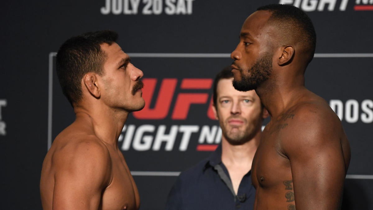 UFC on ESPN 4 start time -- Rafael dos Anjos vs. Leon Edwards: Predictions, fight card, odds, live stream