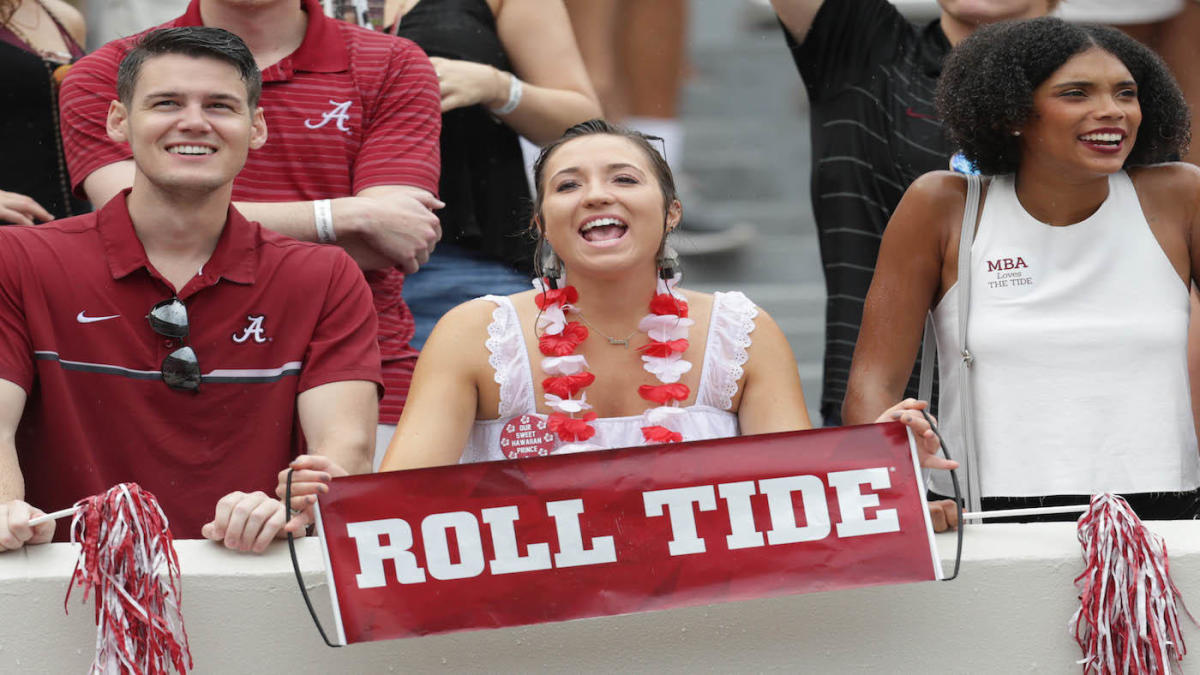 What makes going to a college football game at Alabama's Bryant-Denny Stadium a unique experience