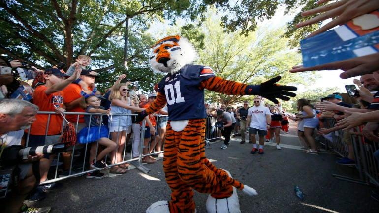 NCAA Football: Alabama State at Auburn