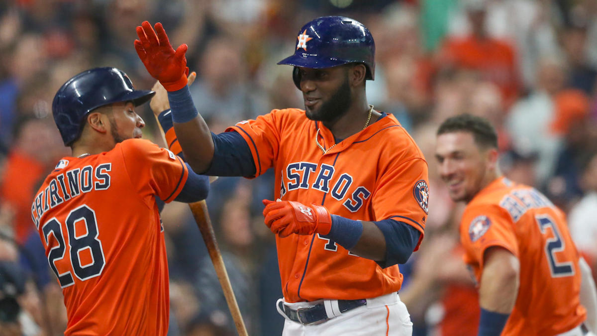 MLB Awards: Astros' Yordan Alvarez could become the first primary DH to win AL Rookie of the Year since 1994