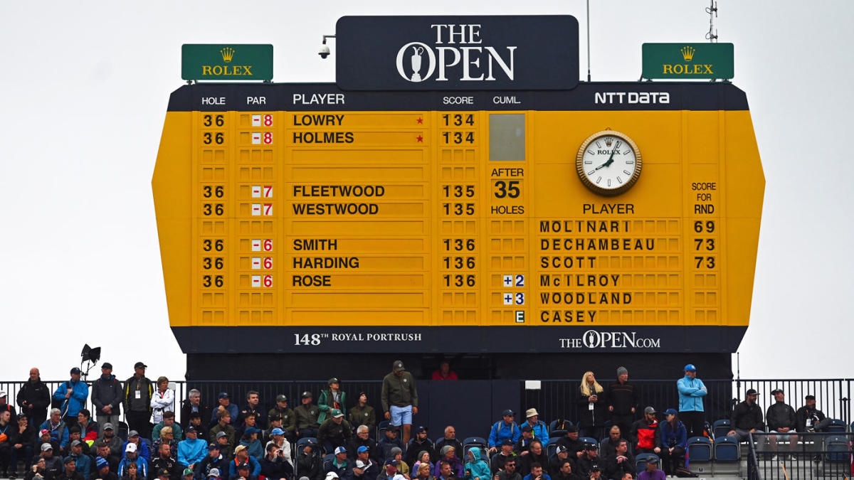 2019 british open leaderboard  live coverage  golf scores  highlights on saturday in round 3