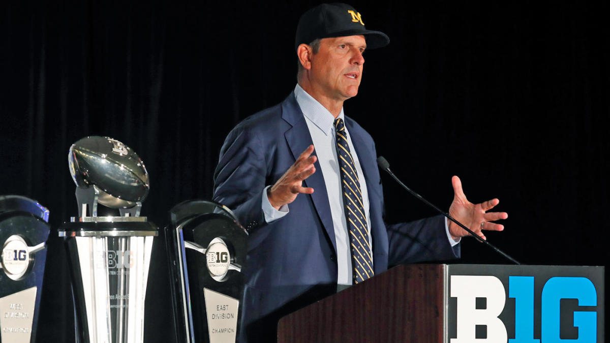 Deflecting and distracting, Jim Harbaugh knows Michigan must find greater success
