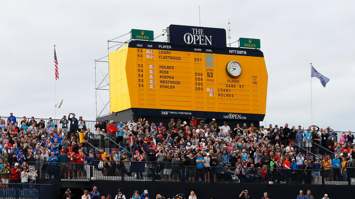 2019 british open leaderboard  live coverage  golf scores  highlights on sunday in round 4