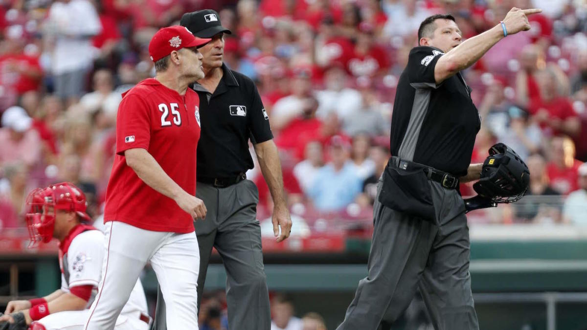 David Bell has already set the Reds' single-season record for manager ejections and it's only July