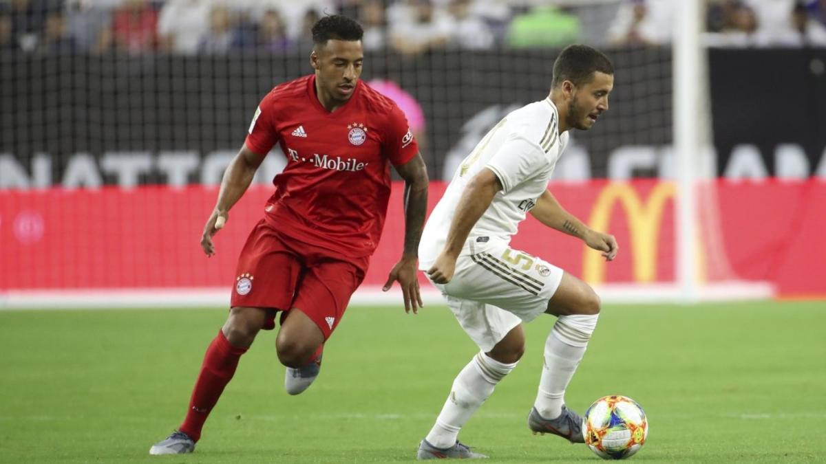 International Champions Cup schedule, scores, news: Hazard makes Real Madrid debut in loss to Bayern Munich