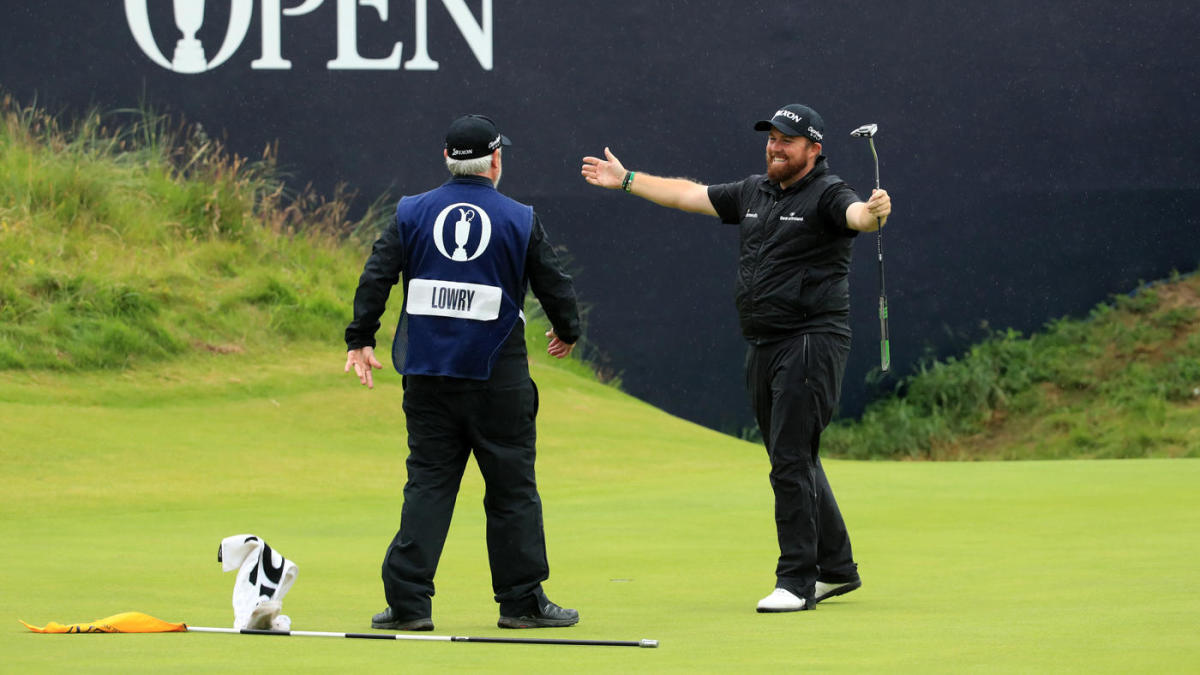 2019 british open leaderboard  scores  winner  shane lowry