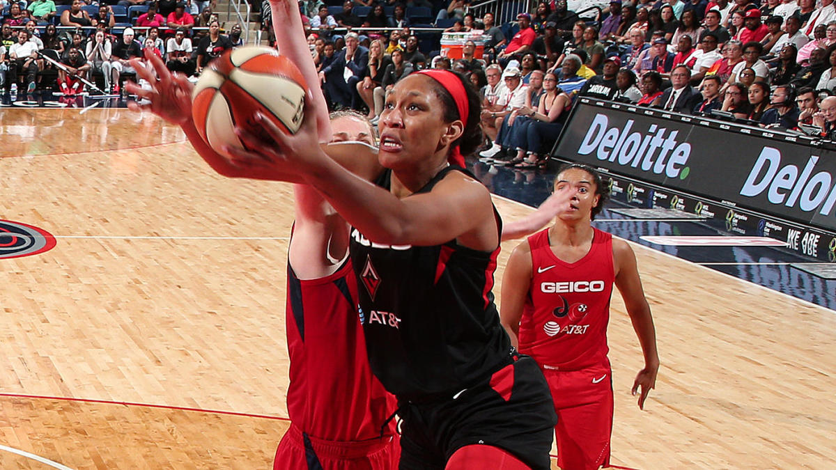 A'ja Wilson injury update: All-Star forward in walking boot, may be out for 'weeks' with sprained ankle
