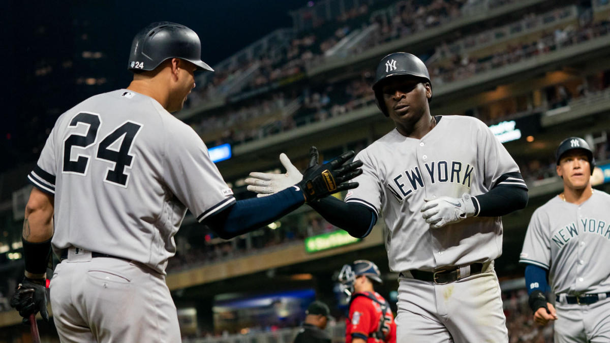 MLB scores: Aaron Hicks, Yankees outlast Twins in wild ...  Yankees