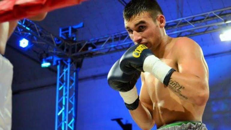 IMG HUGO SANTLLAN, Argentinian Boxer