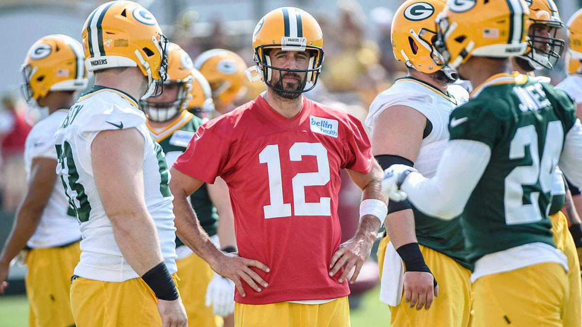 Aaron Rodgers 'tired' of 'clickbait' coverage, blames 'fake news' for perceived Matt LaFleur drama