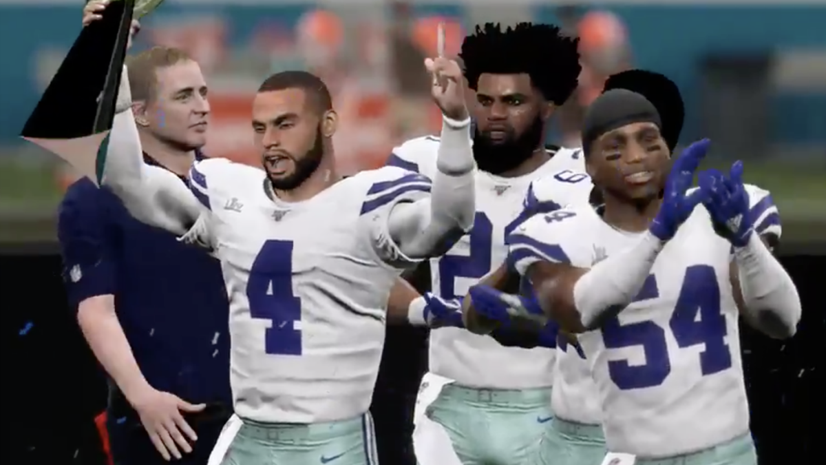 Madden 20 NFL Simulation, Review: Cowboys beat Browns in