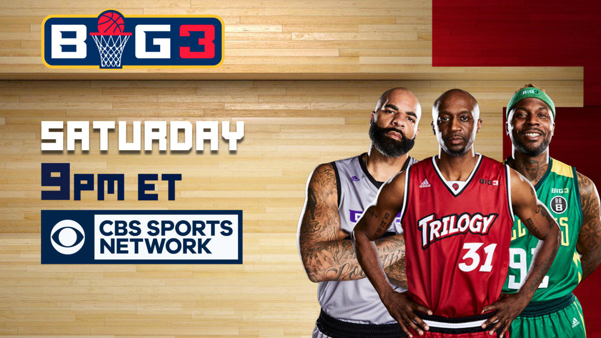 BIG3 basketball 2019: How to watch Week 6 of Ice Cube's 3-on-3