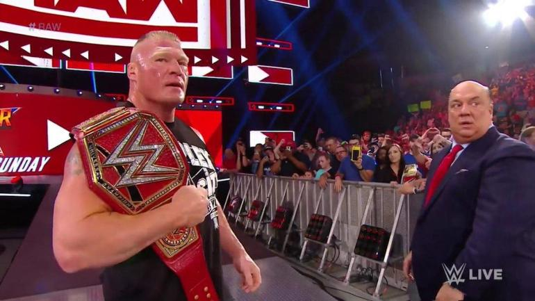 WWE Raw results, recap, grades: Brock Lesnar brutalizes Seth Rollins, Samoan Summit chaos, new champs