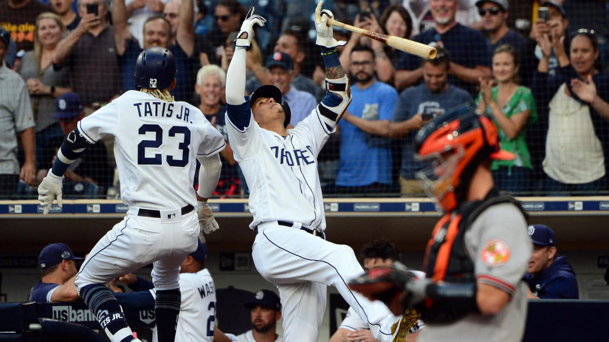 Padres ambush O's starter David Hess with home runs on first two pitches of the game