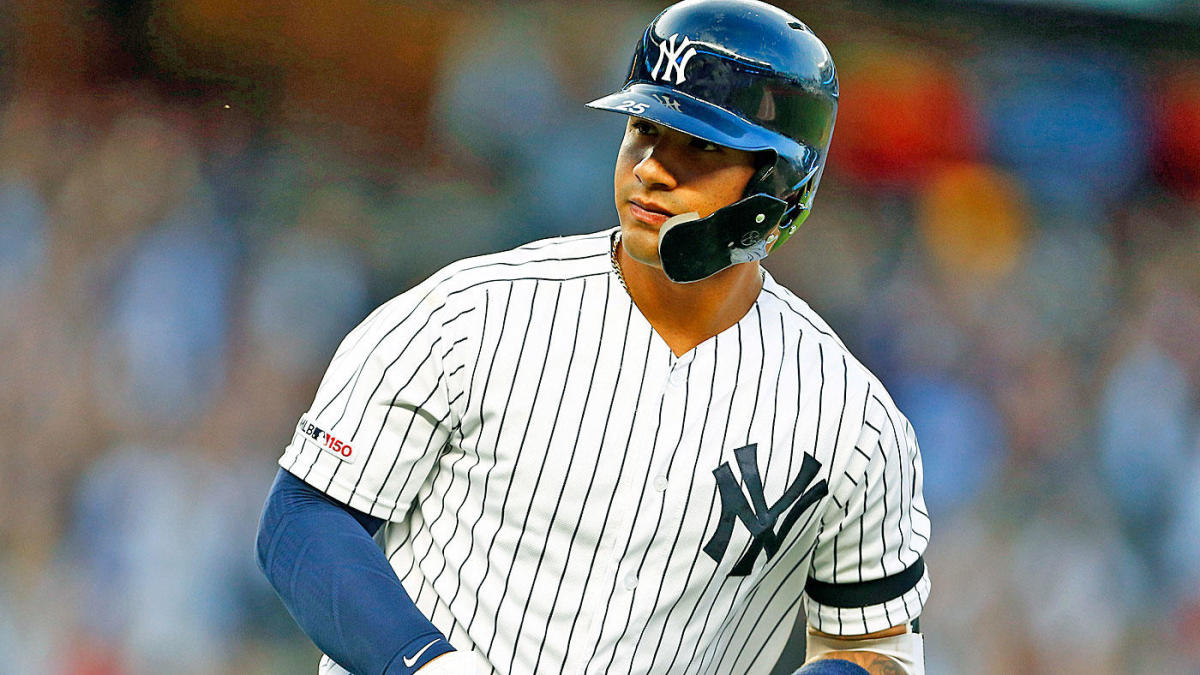 reputable site ff397 0d7dc Yankees' Gleyber Torres exits game after slipping, buckling ...