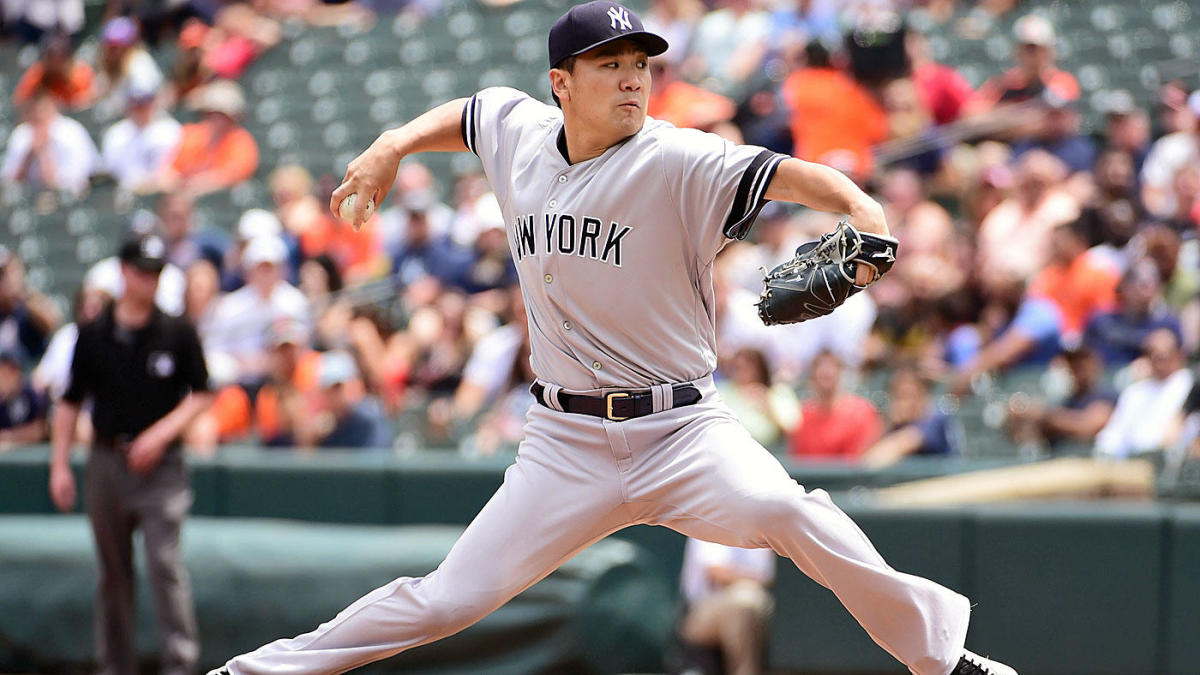 Yankees' Masahiro Tanaka released from hospital after being struck in head by Giancarlo Stanton liner – CBS sports.com