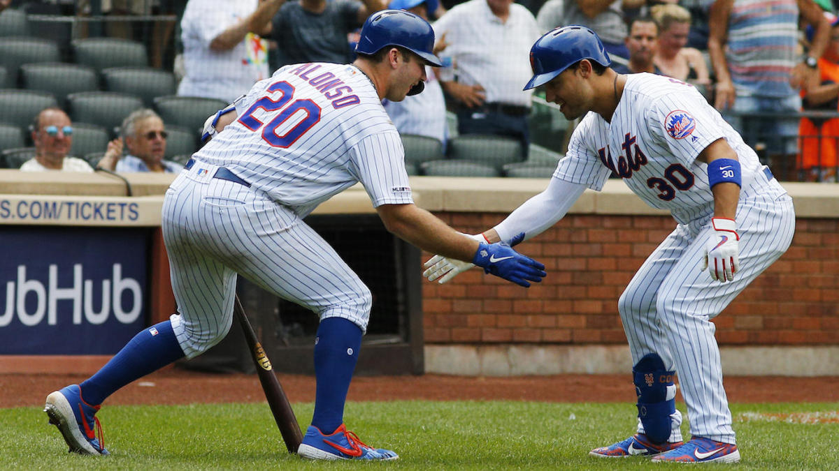 MLB scores: Mets power to 13th win in 14 games; Nationals, Dodgers finish sweeps of NL foes