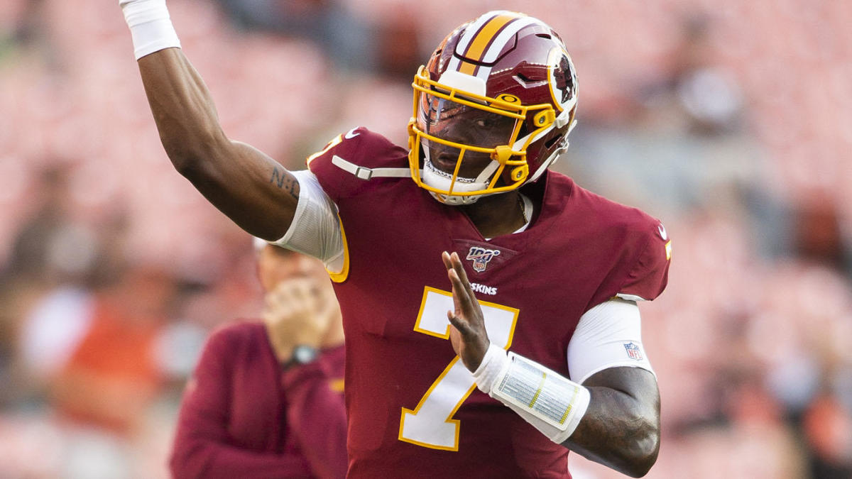 Dwayne Haskins Redskins Debut Filled With Ups And Downs