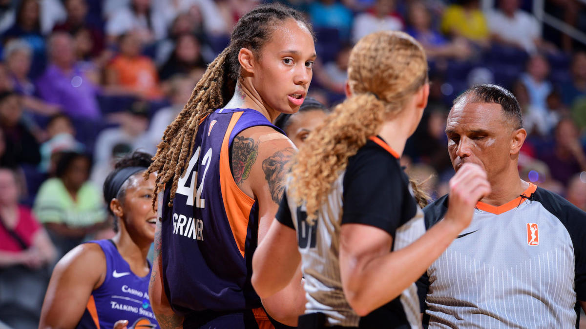 Phoenix Mercury star Brittney Griner suspended three games for role in near-brawl; Diana Taurasi also fined, suspended