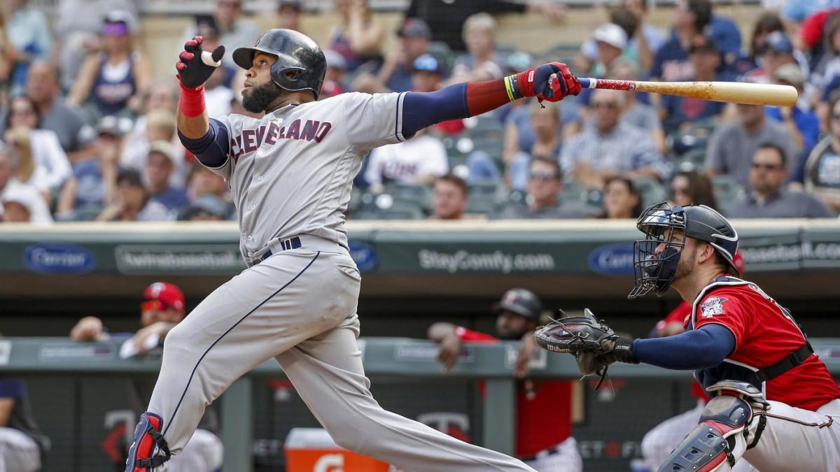 Mlb Scores Indians Carlos Santana Slam Twins In 10th Inning