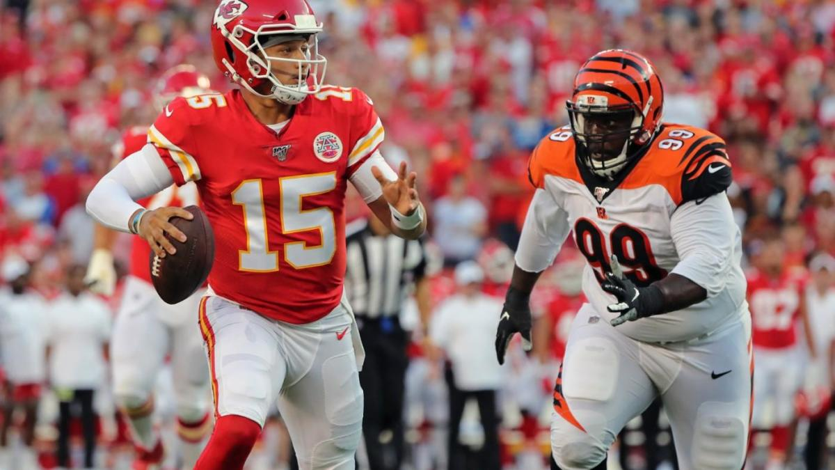 bdb0889c NFL Week 1 preseason scores: Patrick Mahomes perfect, rookies add ...
