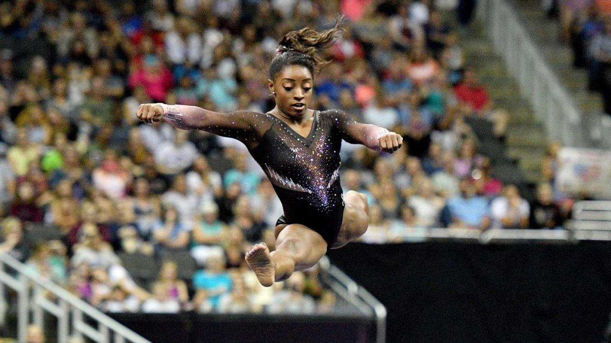 Simone Biles wins record title at U.S. Gymnastics Championships, builds momentum for 2020 Tokyo