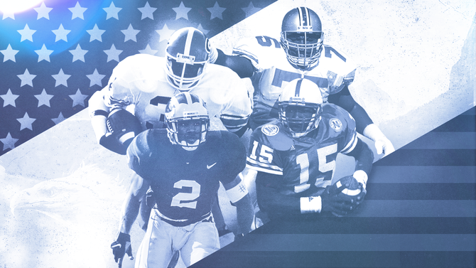 College football turns 150: All-Time All-America team features the game's greatest ever