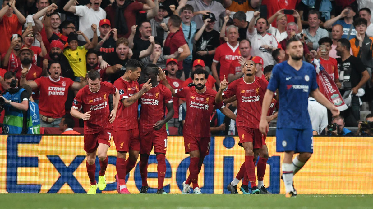 Chelsea Vs Liverpool Score Reds Take Uefa Super Cup Title In Penalty Kicks Thanks To Adrian S Heroics Cbssports Com